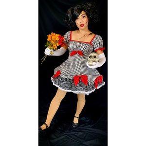 Handmade creepy doll Halloween costume cosplay